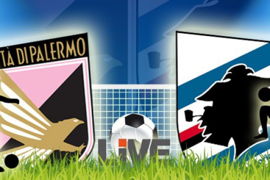 C'è Trajkovski con Gilardino  Palermo-Sampdoria LIVE