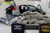 Era diretto a Malta con 13 chili di marijuana, arrestato catanese