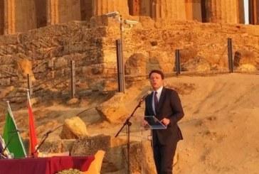 Quattro viaggi in quattro mesi   Renzi e la campagna di Sicilia