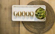 Falafel di ceci con maionese vegetale