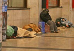 Emergenza freddo Catania: Palaspedini per i senzatetto