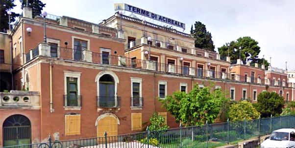 La Regione salva le Terme di Acireale. La Regione Siciliana ha acquistato il complesso termale di Acireale per riqualificarlo e rilanciarlo.