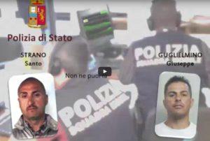 Retata a Catania,il video dell'arresto