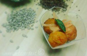 Bocconcini di carote alla menta, vegan e gluten free