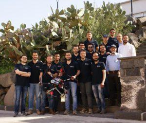 Robotica, festeggiato il team MBZIRC classificato 4° ad Abu Dhabi
