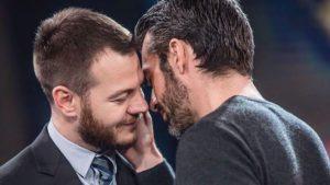 #EPCC, il bacio tra Cattelan e Argentero fa impazzire la rete - Video