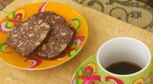 Salame turco vegetale al 100% con semi di girasole e mandorle