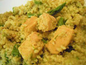 La ricetta del giorno: cous cous di pollo e asparagi