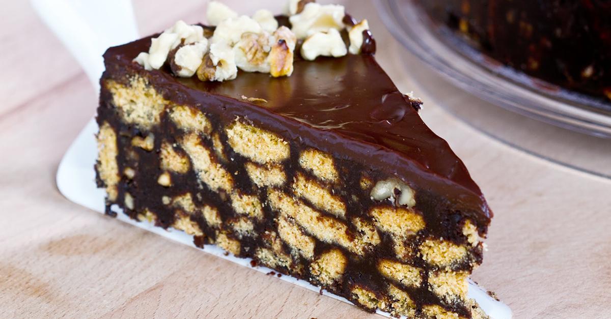 Estremamente La ricetta del giorno: torta di biscotti senza cottura - HH67