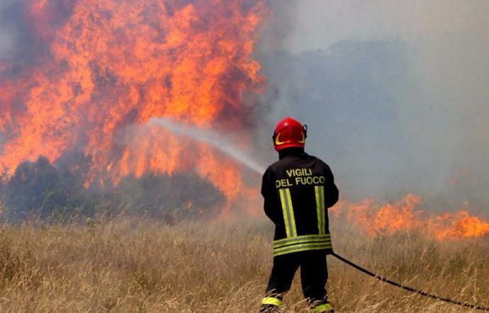 Emergenza incendi Sicilia