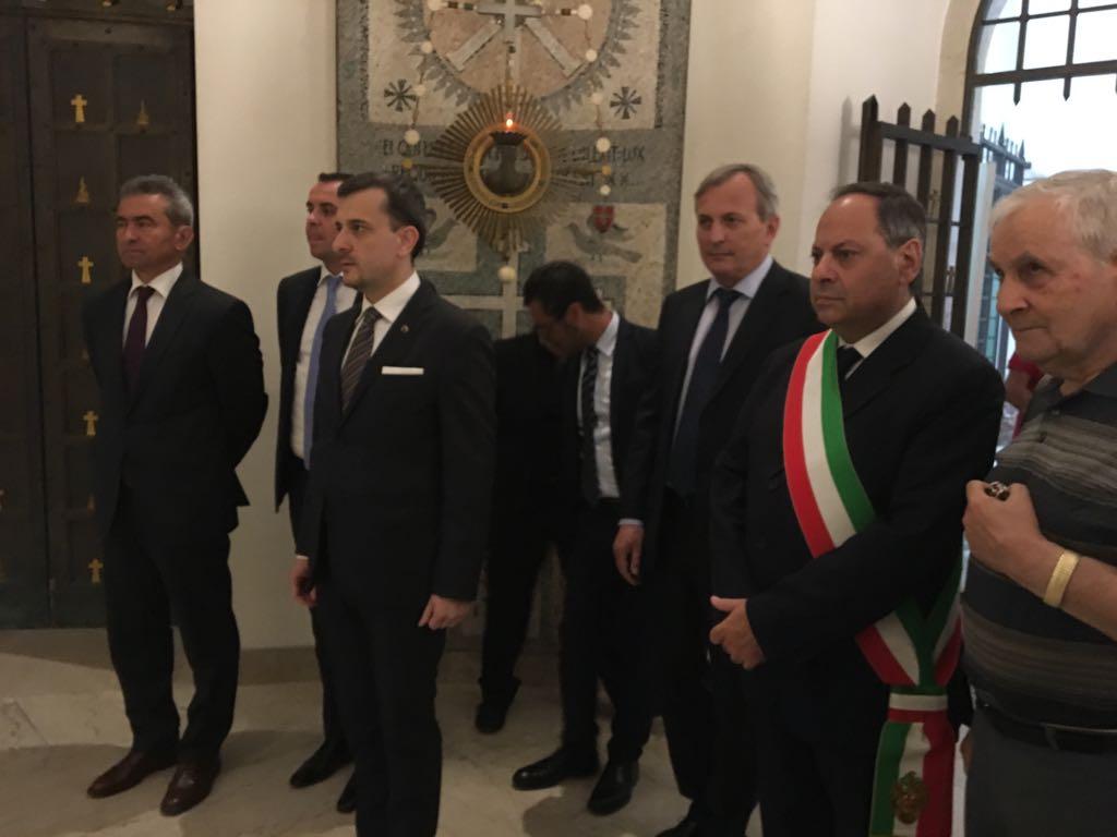 George Bologan Ambasciatore di Romania in Italia