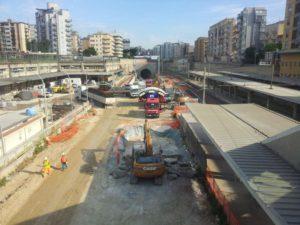Linea Notarbartolo-Giachery, circolazione treni sospesa per i lavori
