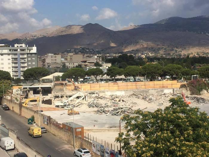 Salamone & Pullara: demolita a Palermo ex sede, al suo posto Lidl
