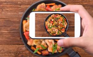 Un'app che riconosce i piatti da una foto e ti fornisce la ricetta