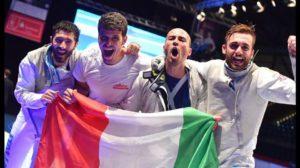 """Mondiali Scherma: oro nel fioretto. Garozzo: """"Lo dedichiamo a Baldini"""""""