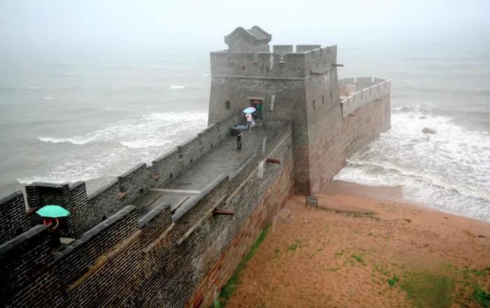 La fine della Grande Muraglia cinese