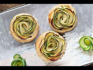 La ricetta del giorno: rotolini di zucchina in sfoglia