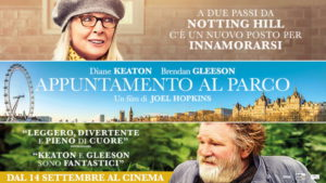 Appuntamento al parco, la commedia di Joel Hopkins con Diane Keaton