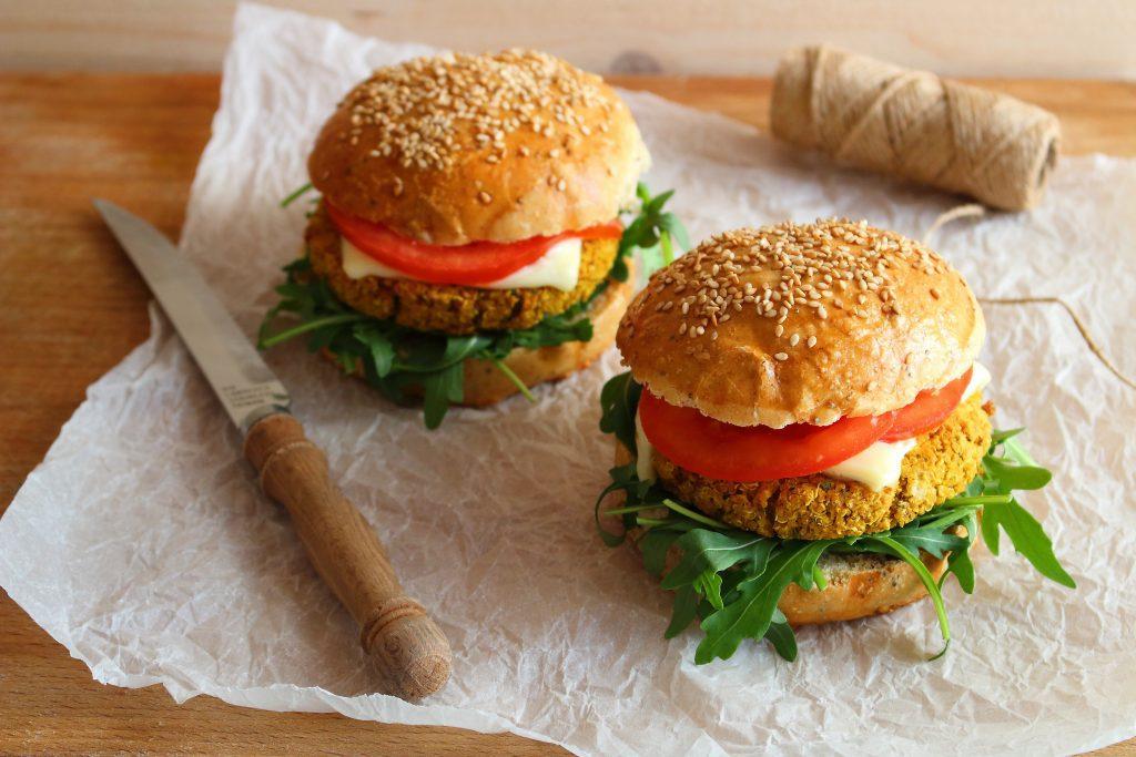hamburger di quinoa