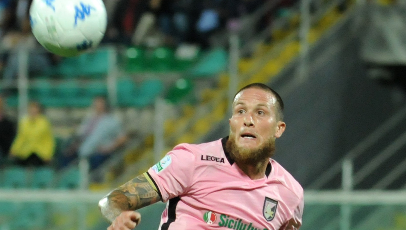 during the Serie B match between US Citta di Palermo and AC Perugia at Stadio Renzo Barbera on September 19, 2017 in Palermo, Italy.Mike Palazzotto