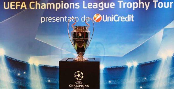 champions league trophy tour