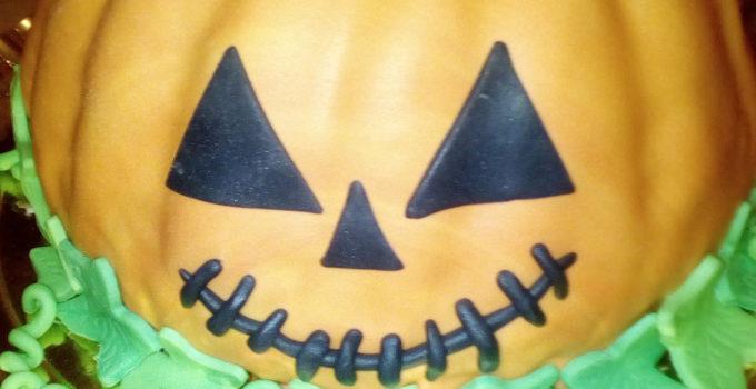 torta zucca di halloween