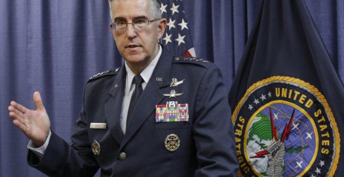 John Hyten non lancerà la bomba atomica