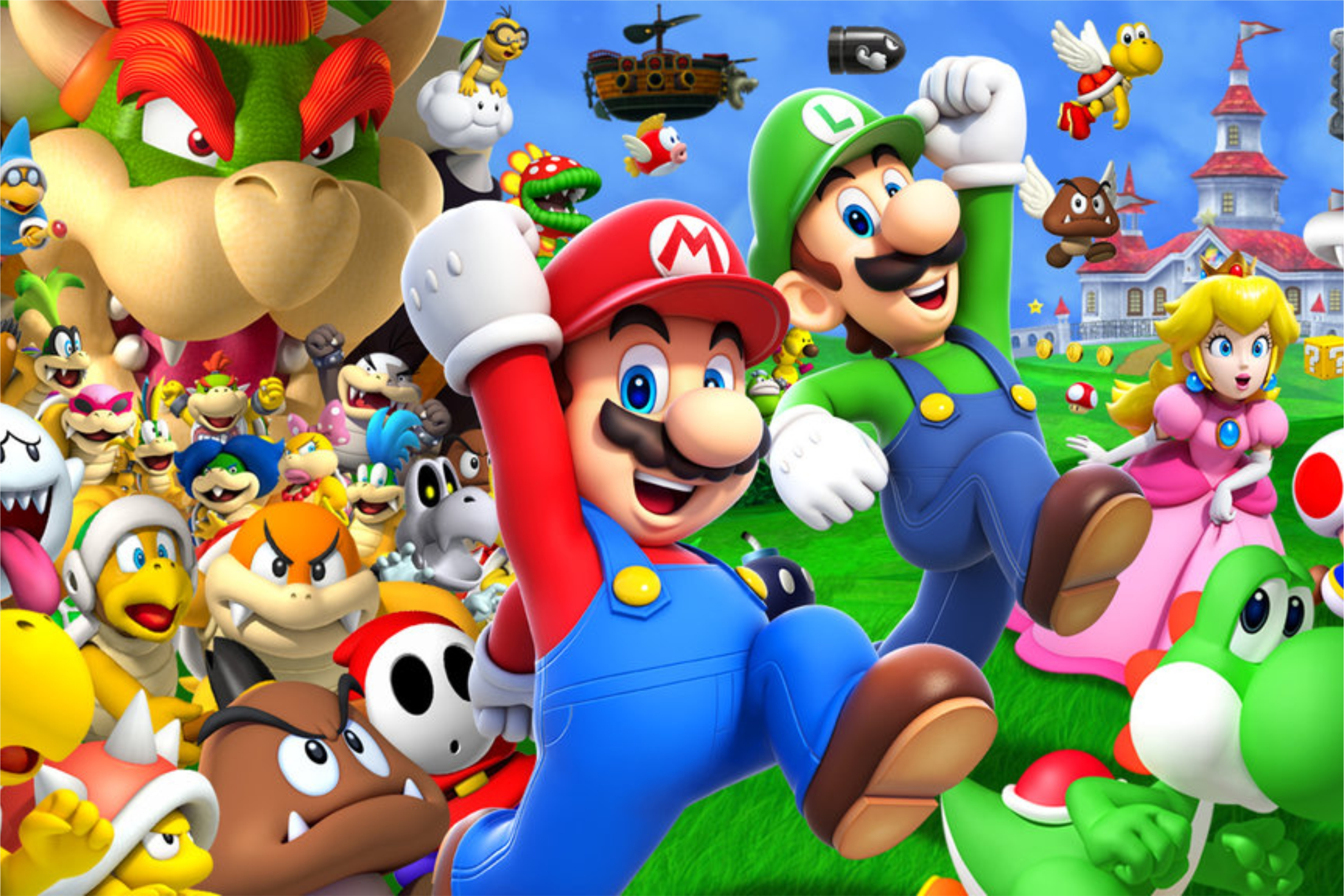 Wii U Screen Savers : Super mario bros arriva il film dell idraulico più amato