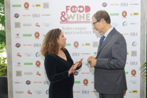 Prima visita ufficiale Nello Musumeci all'Expo Food and Wine