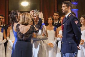 Una siciliana al ballo delle debuttanti