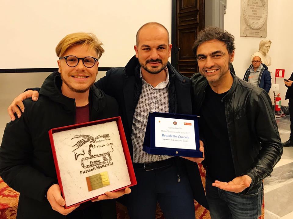 Ismaele La Vardera vince il Premio Piersanti Mattarella