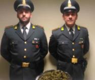 Spacciatori arrestati Paternò: sorpresi con 620 grammi di marijuana
