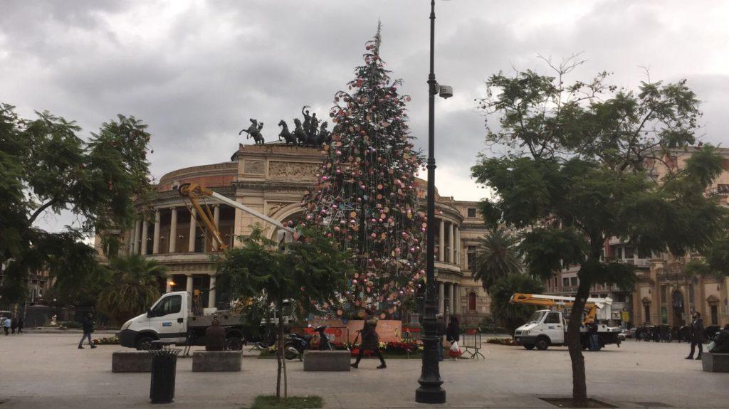 Albero di Natale a Palermo