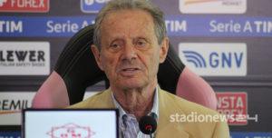 """Palermo, Zamparini: """"Buona prestazione. Mancava Nesto"""""""