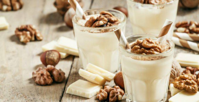 mousse sal cioccolato bianco