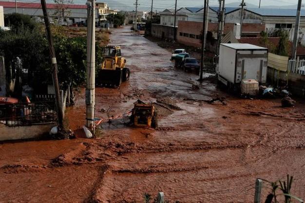 Atene piogge