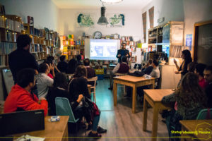 Bootcamp Startup Weekend Messina alla libreria Colapesce