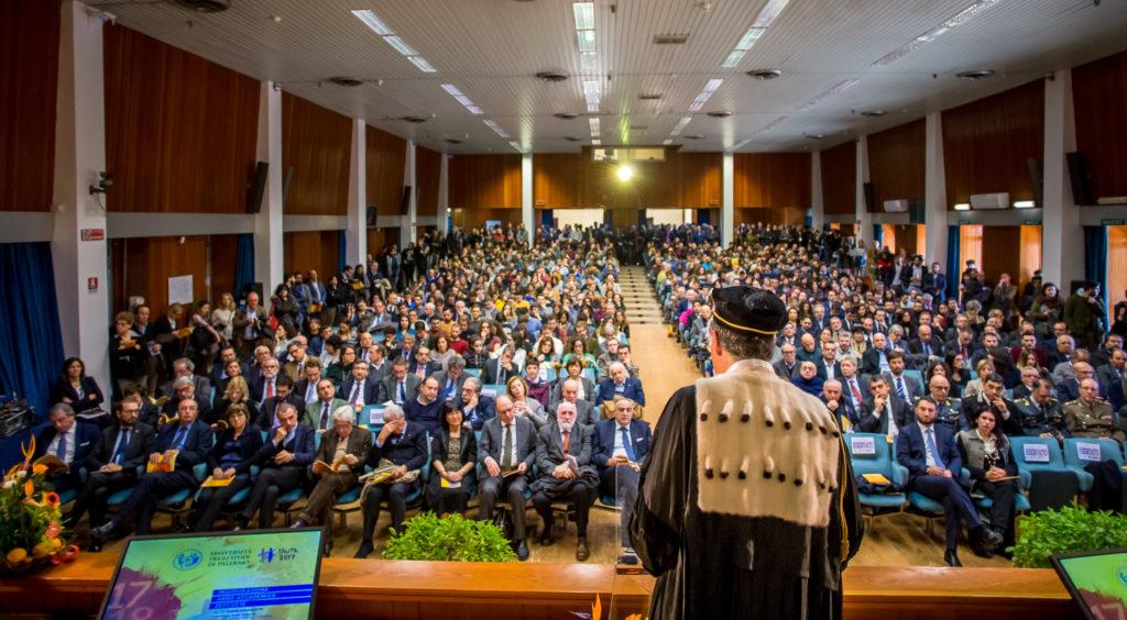 UniPa inaugurato Anno Accademico.
