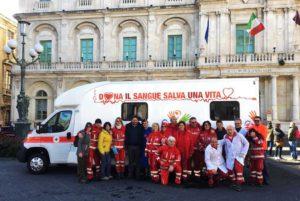 Cri Catania, in Pizza Università per le donazioni di sangue