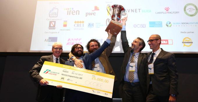 Startup: la siciliana ocore vincitore assoluto del pni 2017