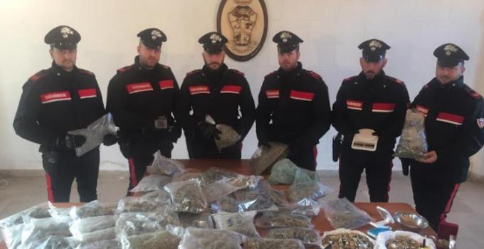 arresti droga settecannoli