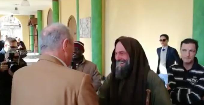 Biagio Conte incontra Zamparini