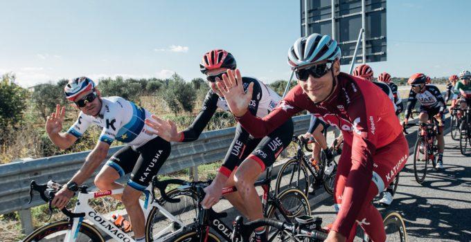 ciclisti emirati arabi