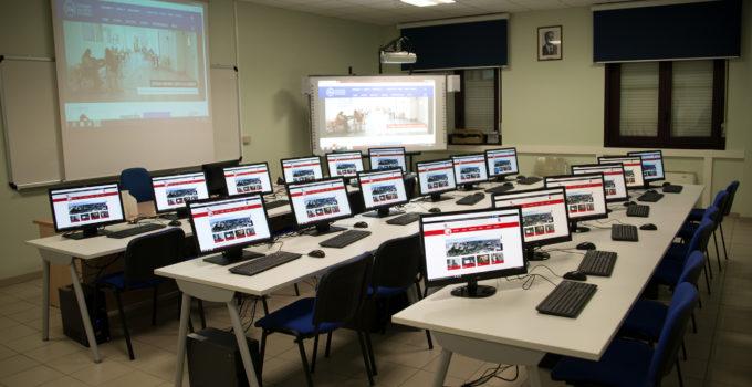 Nuova aula multimediale