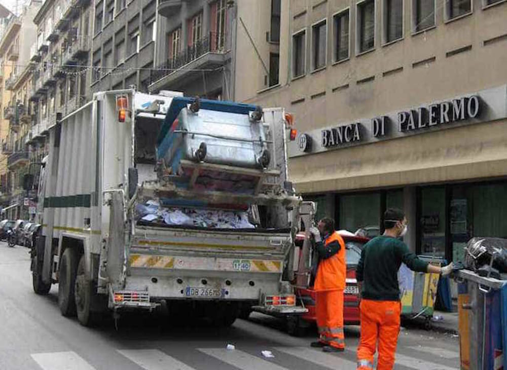 Raccolta dei rifiuti Palermo