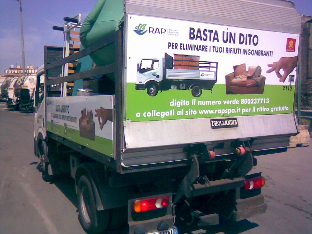 Servizio rimozione ingombranti Palermo
