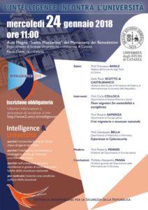 Intelligence incontra Unict: evento sulla sicurezza nazionale