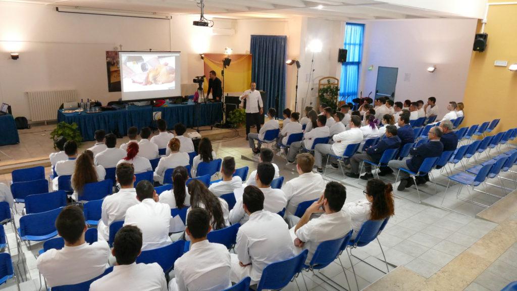 Tour cooking quiz nelle scuole alberghiere della Sicilia -