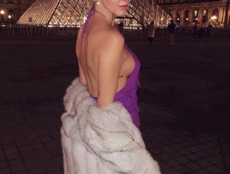 Chiara Ferragni a Parigi