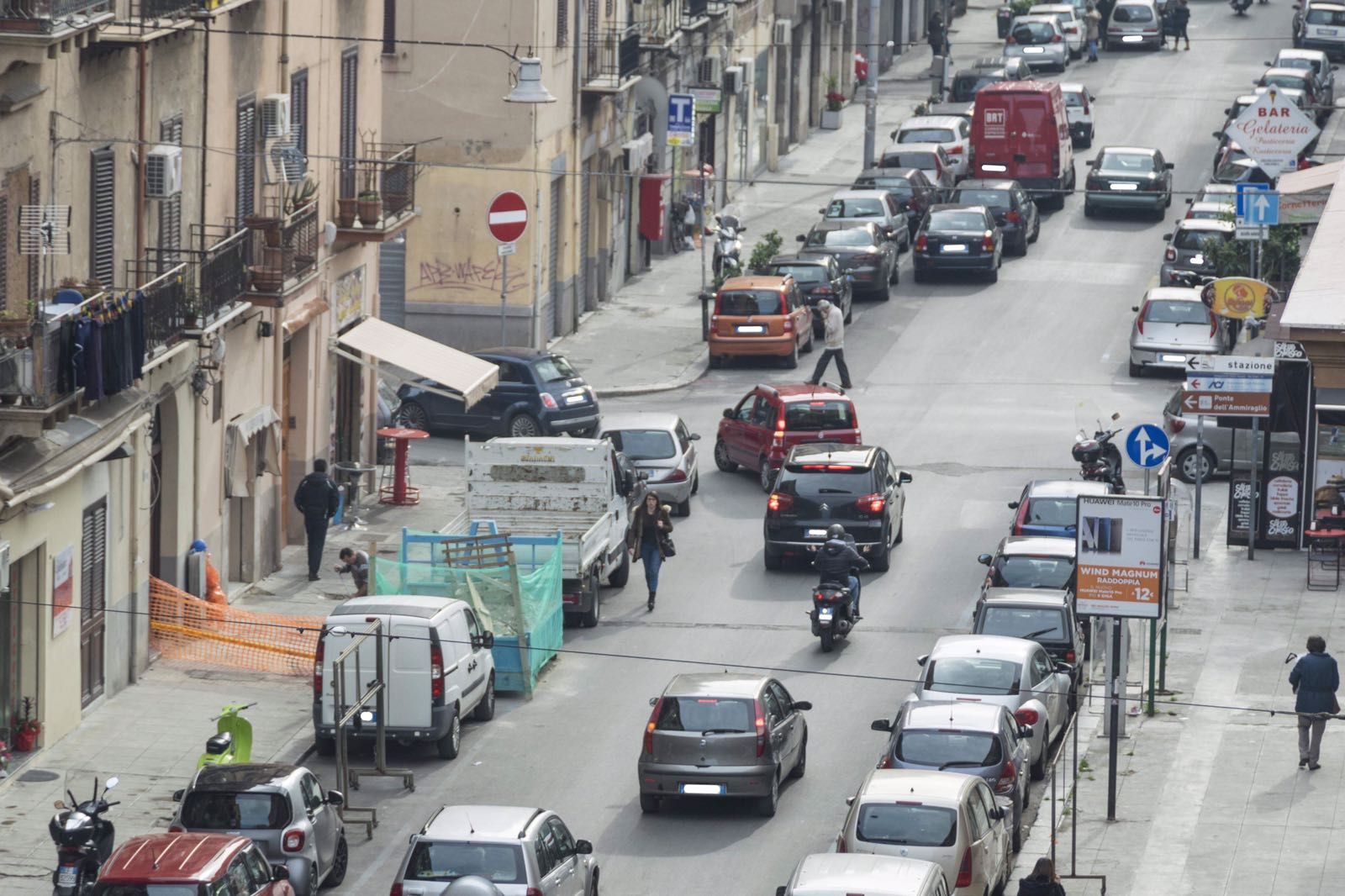 Cambio sensi di marcia Palermo